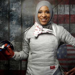 Olympic history: Ibtihaj Muhammad becomes first US Olympian to compete in a hijab