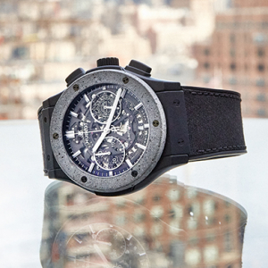A Hublot first: The Concrete Jungle timepiece