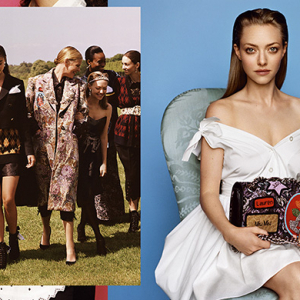 Amanda Seyfried stars in new Miu Miu campaign