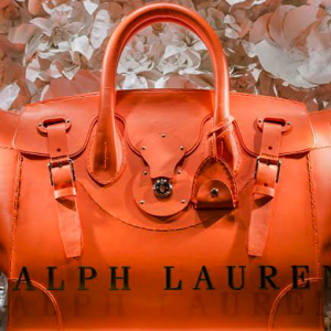 Ralph Lauren's giant Ricky bag continues its world tour in Paris
