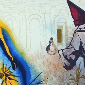 Rare Salvador Dali illustrations for Shakespeare's 'Romeo & Juliet' unveiled