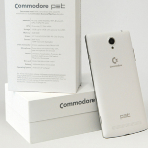 Retro '80s computer brand Commodore returns with an Android smartphone