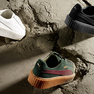 Now available: Rihanna reveals three new Creepers