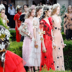 Paris Haute Couture Fashion Week: Rodarte Spring/Summer '18