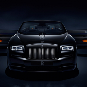 Haute ride: Rolls-Royce unveils the Dawn Black Badge