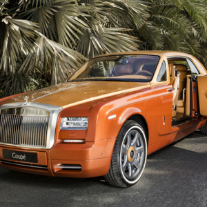 The Bespoke Tiger Phantom Coupe: A Rolls-Royce exclusive