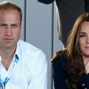 Britain's young royals at the Commonwealth Games