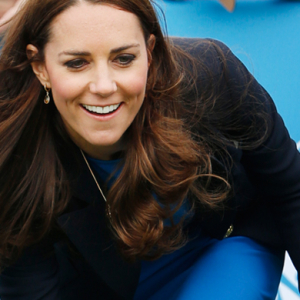 Kate Middleton jumps in heels at the Glasgow Commonwealth Games