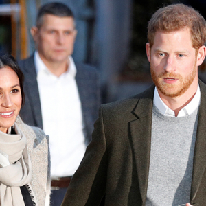 Prince Harry and Meghan Markle make their first official outing of 2018