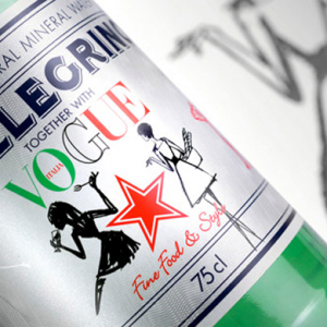 S.Pellegrino debuts new bottle dedicated to Vogue Italia