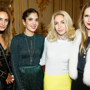 Sabine Getty's Memphis jewellery collection launch