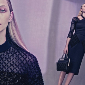 Full look: Sasha Pivovarova for Balenciaga Spring/Summer 15