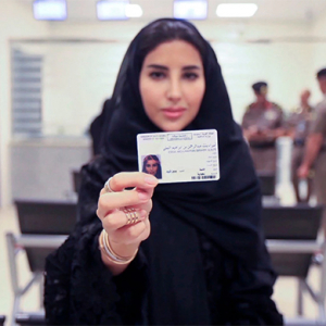 Saudi Arabia just issued its first driver's licenses to women