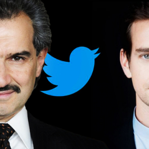 Saudi Arabia's Prince Alwaleed holds talk with Twitter founder