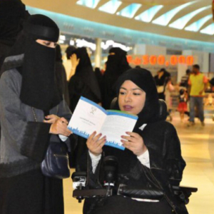 Women can now vote for the first time ever in Saudi Arabia