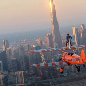 Sheikh Hamdan wing walks over Dubai