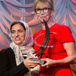 Making history: Sheikha Lubna receives Clinton Global Citizen Award