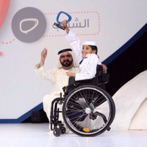 Sheikh Mohammed speaks at the Arab Social Media Summit in Dubai