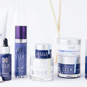 Here's where to get your hands on the world's first beauty products made from silk