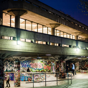 The unofficial skatepark at Southbank has been saved from relocation