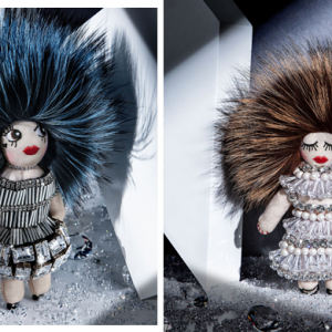 Swarovski and Tchi Tchi present a dazzling doll collection