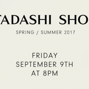 Live streaming: Tadashi Shoji Spring/Summer '17 New York Fashion Week