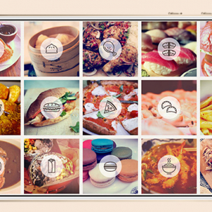 Hungry? Take a look at this map showing 'The food capitals of Instagram'