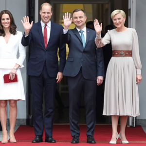 The royal tour: Follow Kate and William across Poland