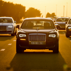 The Rolls-Royce Ghost II's Arabian adventure