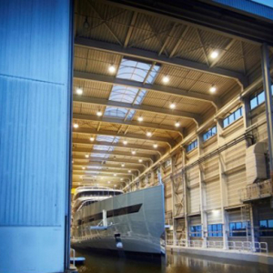 The world's first hybrid luxury superyacht debuts