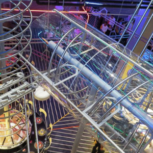 The world's largest roller coaster-themed restaurant opens in Abu Dhabi