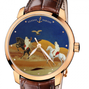 Ulysse Nardin's Classico Dunes: Made for the Middle East