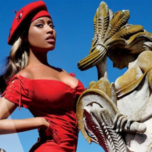 Nicki Minaj covers V Magazine shot by Mario Testino