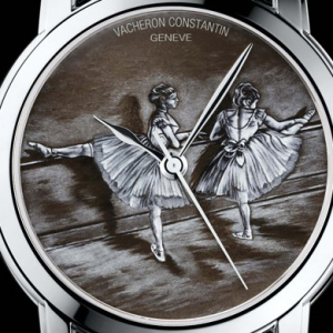 Vacheron Constantin displays three new ballet-inspired timepieces