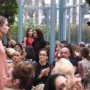 Paris Fashion Week: Valentino front row
