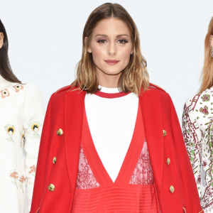Paris Fashion Week Spring/Summer '18: Valentino front row