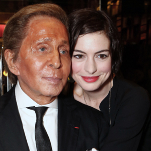 Valentino Garavani, Anne Hathaway, Hugh Grant and more toast London's first Assouline flagship