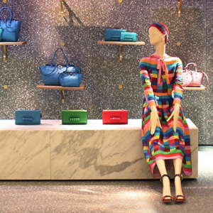 Valentino launches luxury pop-up store in Harrods