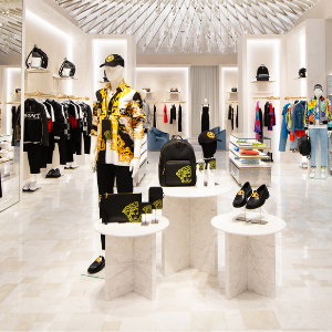 Versace opens the doors to its new flagship in Dubai