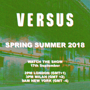 Live: Versus Versace SS18 London Fashion Week