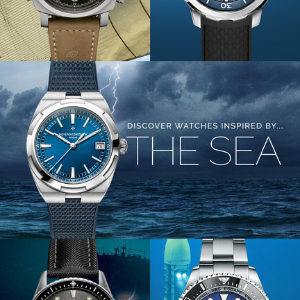 Watchbox dives deep for an edit of watches inspired by the sea
