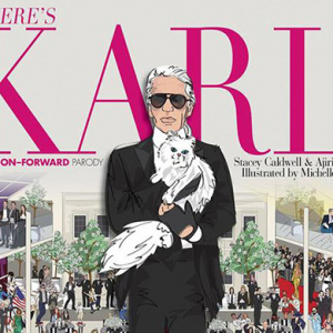 Where's Karl: Is this the most fashionable children's book ever?