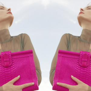 Emerging designer debut: Ximena Kavalekas' python box bag