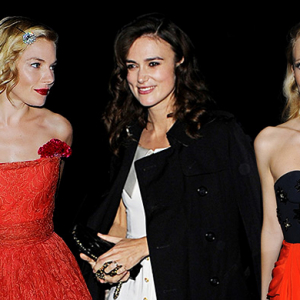 Mario Testino celebrates his birthday with A-list friends in London