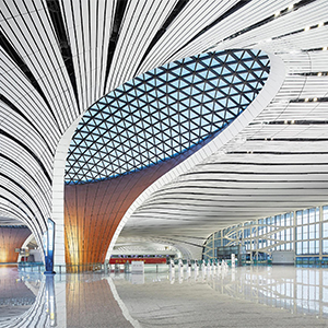 Zaha Hadid's new international airport in China is now open