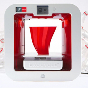 Will.i.am unveils the Ekocycle Cube 3-D printer