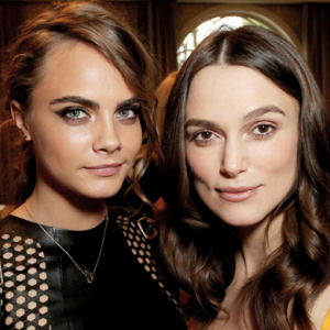 Cara Delevingne, Keira Knightley and more at the BAFTA's annual tea party in Los Angeles
