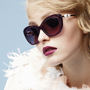 Full look: Chanel releases the full Pearl Eyewear campaign starring Lily Rose Depp