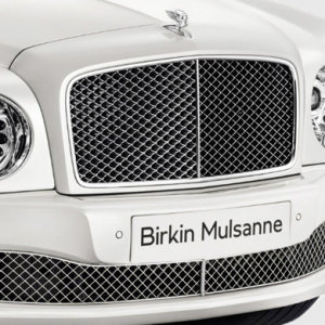 The Bentley Mulsanne Birkin Edition