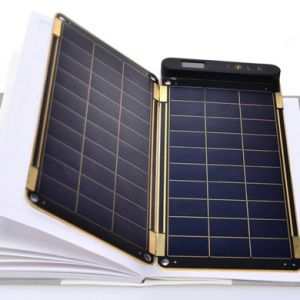 Portable power: The new paper-thin solar power charger